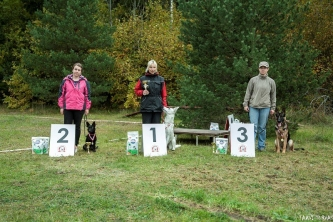 EVLÜ MiniCup 2014 Young Dogs Obedience Competition III Stage