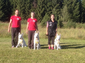 Obedience Competition EVLÜ MiniCup 2015 Winners